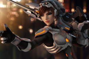 Widowmaker Overwatch 4k Artwork