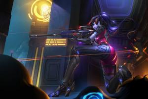 Widowmaker Overwatch 4k Game Artwork