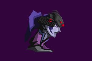 Widowmaker Overwatch 8k