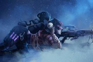 Widowmaker Overwatch Artwork