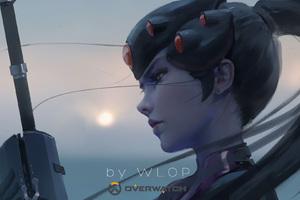 Widowmaker Overwatch By Wlop Wallpaper