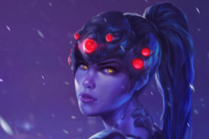 Widowmaker Overwatch Character Fan Art 4k
