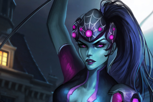Widowmaker Overwatch Fanart 5k Wallpaper