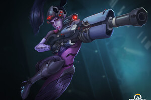 Widowmaker Overwatch Fanart