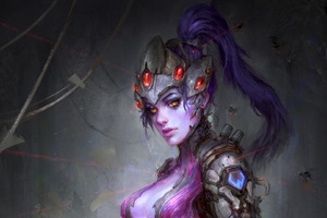 Widowmaker Overwatch Fantasy Artwork
