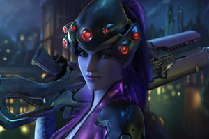 Widowmaker Overwatch Fantasy Wallpaper