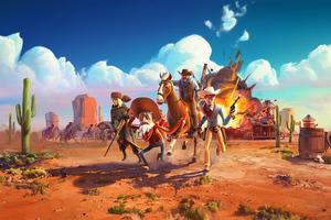 Wild West 4k