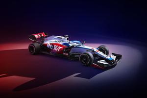 Williams FW43 2020 8k Wallpaper