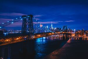 Williamsburg Bridge New York Wallpaper