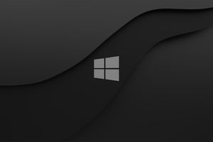 Windows 10 Dark Logo 4k Wallpaper