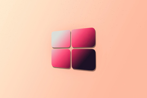 Windows 10 Gradient Logo 4k