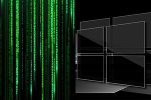 Windows 10 Matrix Wallpaper