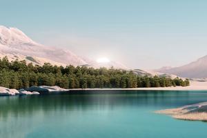 Windows 11 Landscape 4k Wallpaper