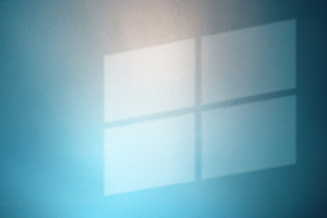 Windows Logo On Wall
