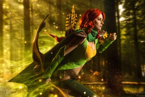 Windranger DotA 2 Cosplay