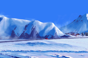 Winter Journey 4k Wallpaper