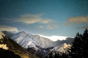 Winter Mountains 4k Wallpaper