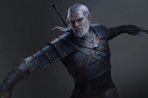 Witcher 3 Geralt Of Rivia 4k