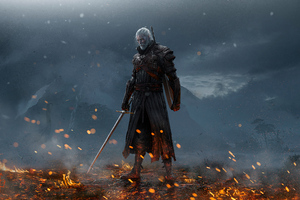 Witcher 4k Artwork 2020
