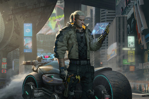 Witcher Cyberpunk 2077 4k Wallpaper