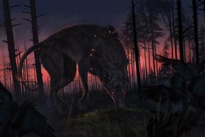 Wolf Fantasy Wallpaper