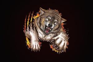 Wolf Minimal Art
