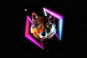 Wolf Minimal Justin Maller 4k Wallpaper
