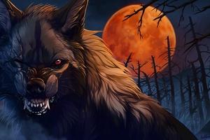 Wolf Roar Artwork
