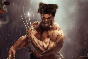 Wolverine 4kartwork