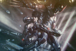 Wolverine And Domino X Force