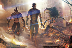 Wolverine And His Family