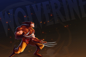Wolverine Artwork 5k Wallpaper