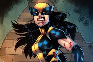 Wolverine Belen Ortega 4k Wallpaper