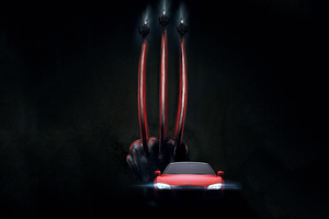 Wolverine Claws And Audi 4k Wallpaper