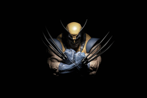 Wolverine Dark 4k Wallpaper