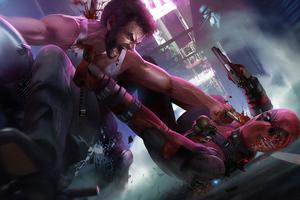 Wolverine Deadpool Wallpaper