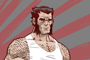 Wolverine Illustration Drawing