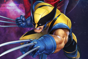 Wolverine Marvel Ultimate Alliance 3 The Black Order