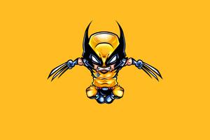 Wolverine Minimal 4k