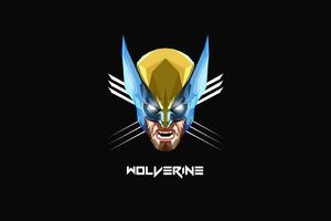 Wolverine Minimalism 4k 2020 Wallpaper