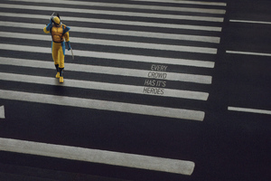 Wolverine On Road