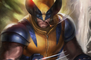Wolverine Smoking