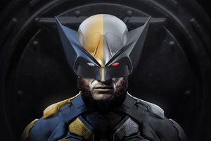 Wolverine Superhero Artwork