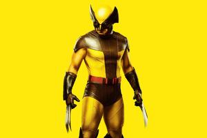 Wolverine Yellow Costume Wallpaper