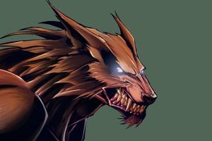 Wolves Artwork Wallpaper