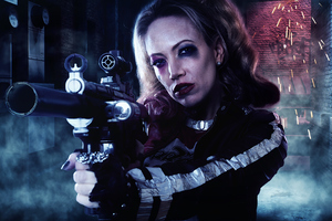 Women Harley Quinn 4k