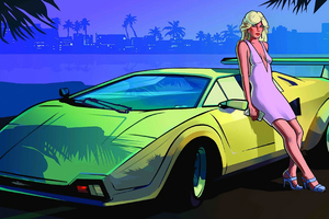 Women Luxury Grand Theft Auto Vice City 4k