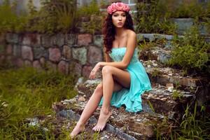 Women Model Sitting