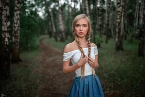 Women Outdoors Photography Wallpaper