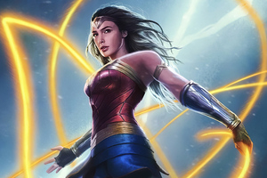 Wonder Woman 1984 4kart Wallpaper